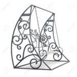 Metall Gartenschaukel Auf Weiem Hintergrund 3d Bild Bett Regal Weiß Regale Wohnzimmer Gartenschaukel Metall