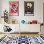 Kinderzimmer Regal Regale Weiß Sofa Wohnzimmer Wandgestaltung Kinderzimmer Jungen
