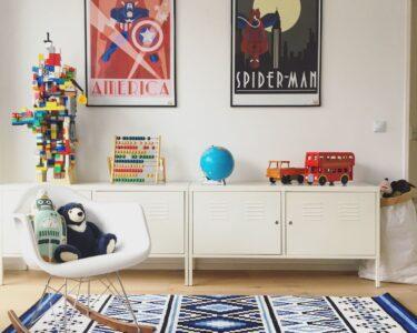 Wandgestaltung Kinderzimmer Jungen Wohnzimmer Kinderzimmer Regal Regale Weiß Sofa