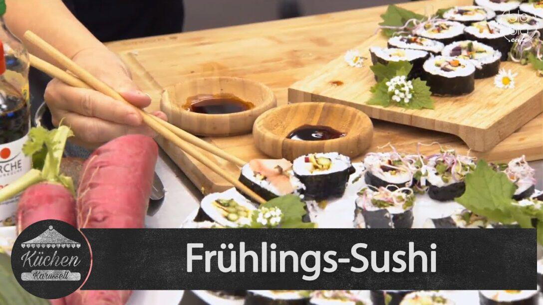 Large Size of Kchenkarussell Frhlings Sushi Mit Mea Wendel Aufz V 0705 Wohnzimmer Küchenkarussell