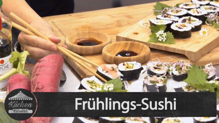 Medium Size of Kchenkarussell Frhlings Sushi Mit Mea Wendel Aufz V 0705 Wohnzimmer Küchenkarussell