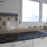 Landhauskche Mit Blau Weissen Mexikanischen Fliesen 2 Moderne Landhausküche Weisse Weiß Küche Fliesenspiegel Glas Grau Selber Machen Gebraucht Wohnzimmer Fliesenspiegel Landhausküche