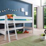 Relita Halbhohes Spielbett Hochbett Kinderbett Kim Liegeflche 90 Bett Wohnzimmer Halbhohes Hochbett