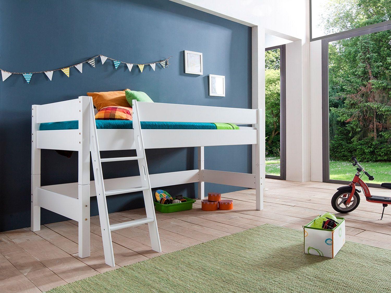 Full Size of Relita Halbhohes Spielbett Hochbett Kinderbett Kim Liegeflche 90 Bett Wohnzimmer Halbhohes Hochbett
