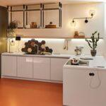 Smart Living Kche Mit Track Hngeregal Kitchen Rolladenschrank Küche Hängeregal Tapeten Für Die Billige Pantryküche Kühlschrank Modulküche Lüftungsgitter Wohnzimmer Küche Hängeregal