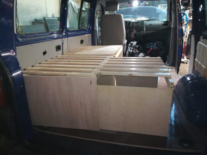 Medium Size of Ausziehbett Camper Vw T5 Vascos Campervan Wohnmobil Service Bett Mit Wohnzimmer Ausziehbett Camper