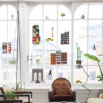 Fensterdekoration New York Von Fatboy Küche Weiß Hochglanz Aufbewahrungsbehälter Fliesenspiegel Glas Miniküche Mit Kühlschrank Nobilia Barhocker Günstige Wohnzimmer Fensterdekoration Küche