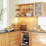 Massivholzküche Abverkauf Klassische L Kche Mit Massivholzmbeln Neu Interpretiert Bad Inselküche Wohnzimmer Massivholzküche Abverkauf