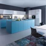 Wandfarben Für Küche Blaue Kche Mit Grauer Wandfarbe Ideen Bilder Von Leicht Edelstahlküche Gebraucht Obi Einbauküche Schreinerküche Alno Wohnzimmer Wandfarben Für Küche