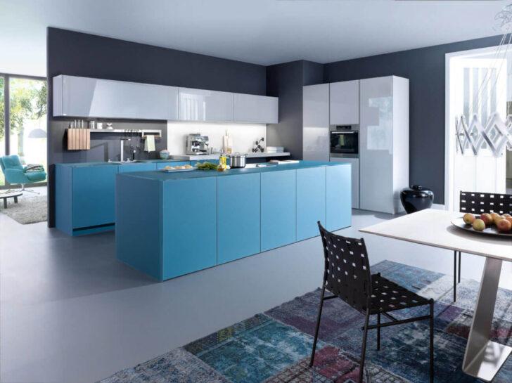 Medium Size of Wandfarben Für Küche Blaue Kche Mit Grauer Wandfarbe Ideen Bilder Von Leicht Edelstahlküche Gebraucht Obi Einbauküche Schreinerküche Alno Wohnzimmer Wandfarben Für Küche