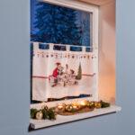 Scheibengardine Industrial Wohnzimmer Scheibengardine Industrial Weihnachtsbckerei Küche Esstisch Scheibengardinen