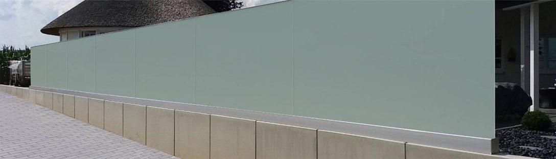 Large Size of Trennwand Balkon Glaszaun Fr Garten Glastrennwand Dusche Wohnzimmer Trennwand Balkon
