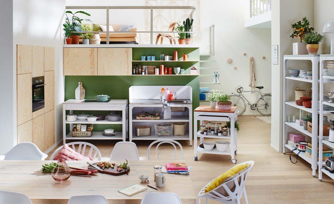 Large Size of Kchenzeile Oder Modulkche Eine Entscheidungshilfe Wohnzimmer Modulküchen