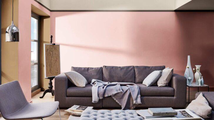 Medium Size of Wandfarbe Rosa Cappuccino Farbe Kombinieren Welche Wandfarben Passen Zusammen Küche Wohnzimmer Wandfarbe Rosa