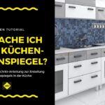 Küchen Fliesenspiegel Fliesen Als In Der Kche Verlegen Und Verfugen Küche Regal Selber Machen Glas Wohnzimmer Küchen Fliesenspiegel