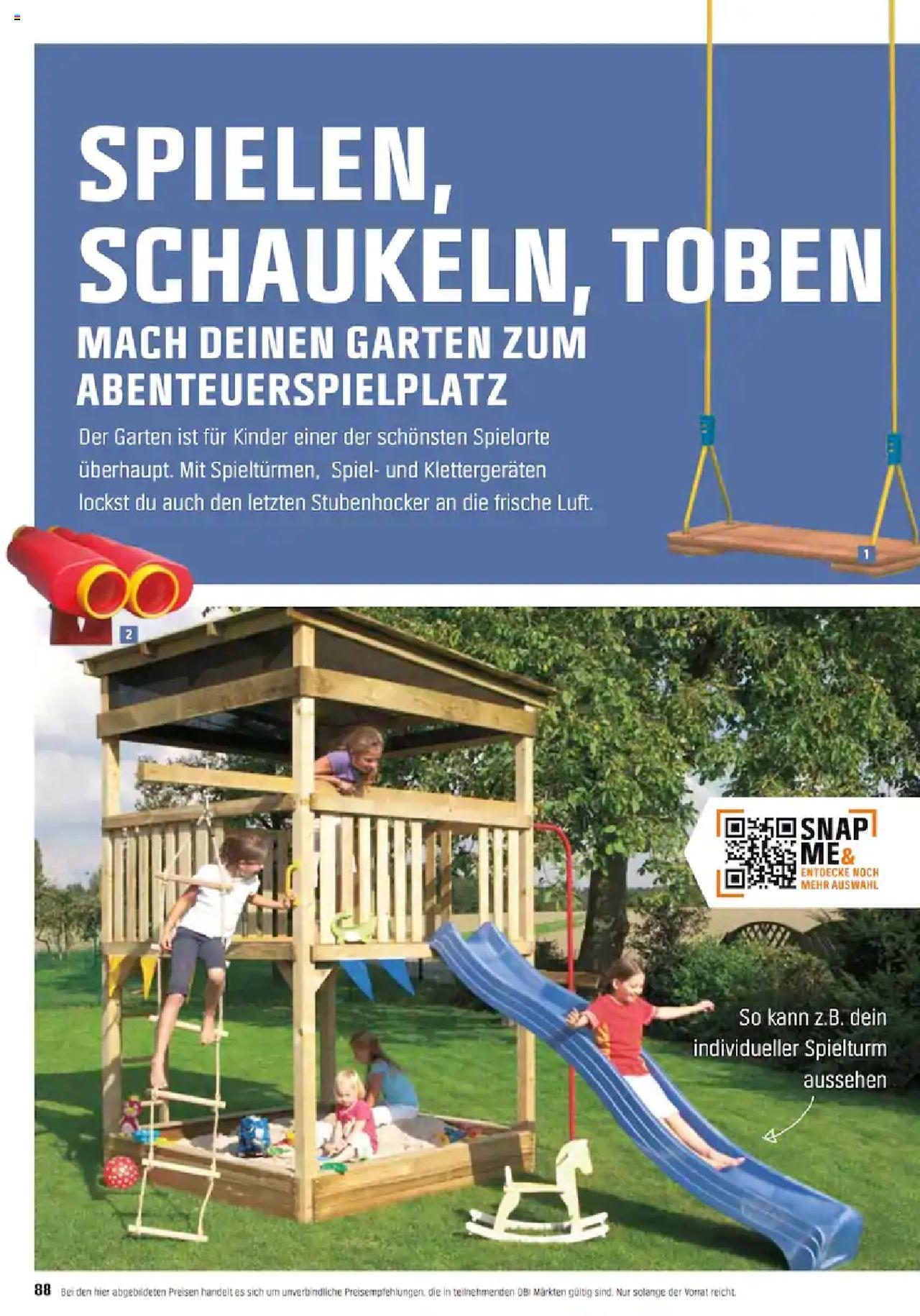 Full Size of Obi Garten Planen Und Gestalten 2020 Von Mittwoch 01012020 Kinderspielturm Bauhaus Fenster Spielturm Wohnzimmer Spielturm Bauhaus