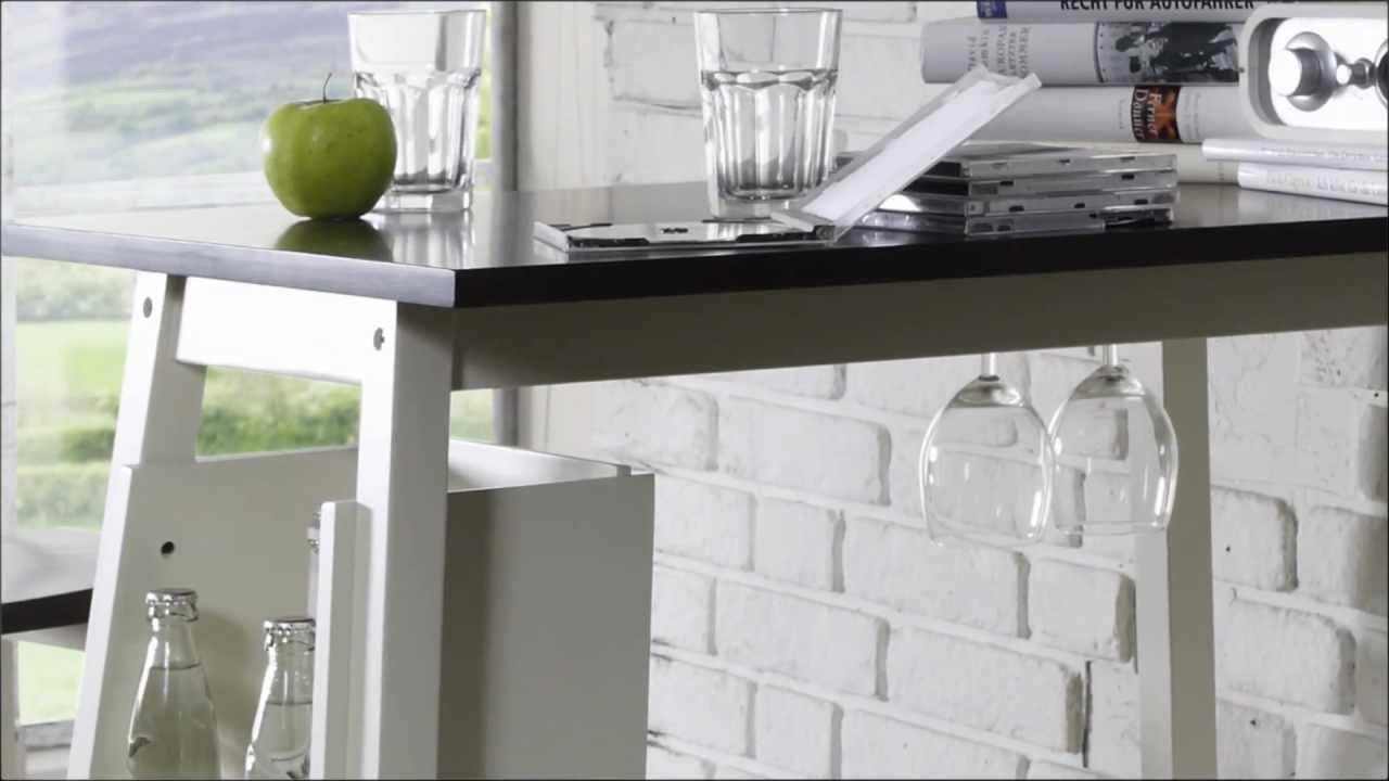 Full Size of Bartisch Mit Hockern Fr Ihre Kche Massivum Youtube Küche Küchen Regal Wohnzimmer Küchen Bartisch