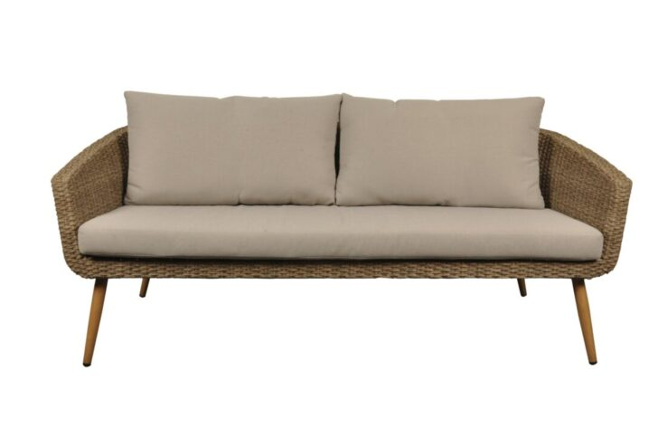 Medium Size of Tchibo Komfort Gartensofa 2 In 1 Lounge Sofa Polyrattan Outdoor Couch Grau Sitzer Balkon Wohnzimmer Gartensofa Tchibo