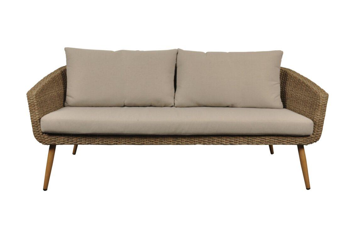 Full Size of Tchibo Komfort Gartensofa 2 In 1 Lounge Sofa Polyrattan Outdoor Couch Grau Sitzer Balkon Wohnzimmer Gartensofa Tchibo