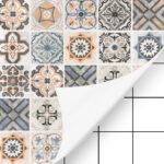 Küchen Tapeten Abwaschbar Fliesenaufkleber Mosaikfliesen Deko Folie Selbstklebende Wohnzimmer Ideen Fototapeten Schlafzimmer Für Die Küche Regal Wohnzimmer Küchen Tapeten Abwaschbar