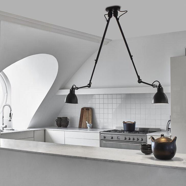 Medium Size of Küchen Deckenleuchte Gelenk N 302 Double Mit Zwei Teleskop Armen Casa Lumi Bad Led Schlafzimmer Wohnzimmer Regal Deckenleuchten Badezimmer Küche Wohnzimmer Küchen Deckenleuchte