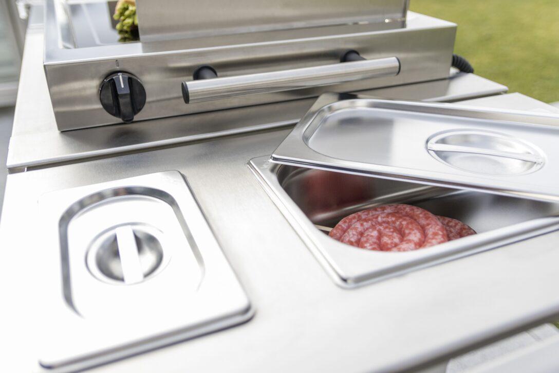 Large Size of Mobile Outdoorküche Das Modulare Outdoorkchen System Ist Sehr Interessant Fr Die Küche Wohnzimmer Mobile Outdoorküche