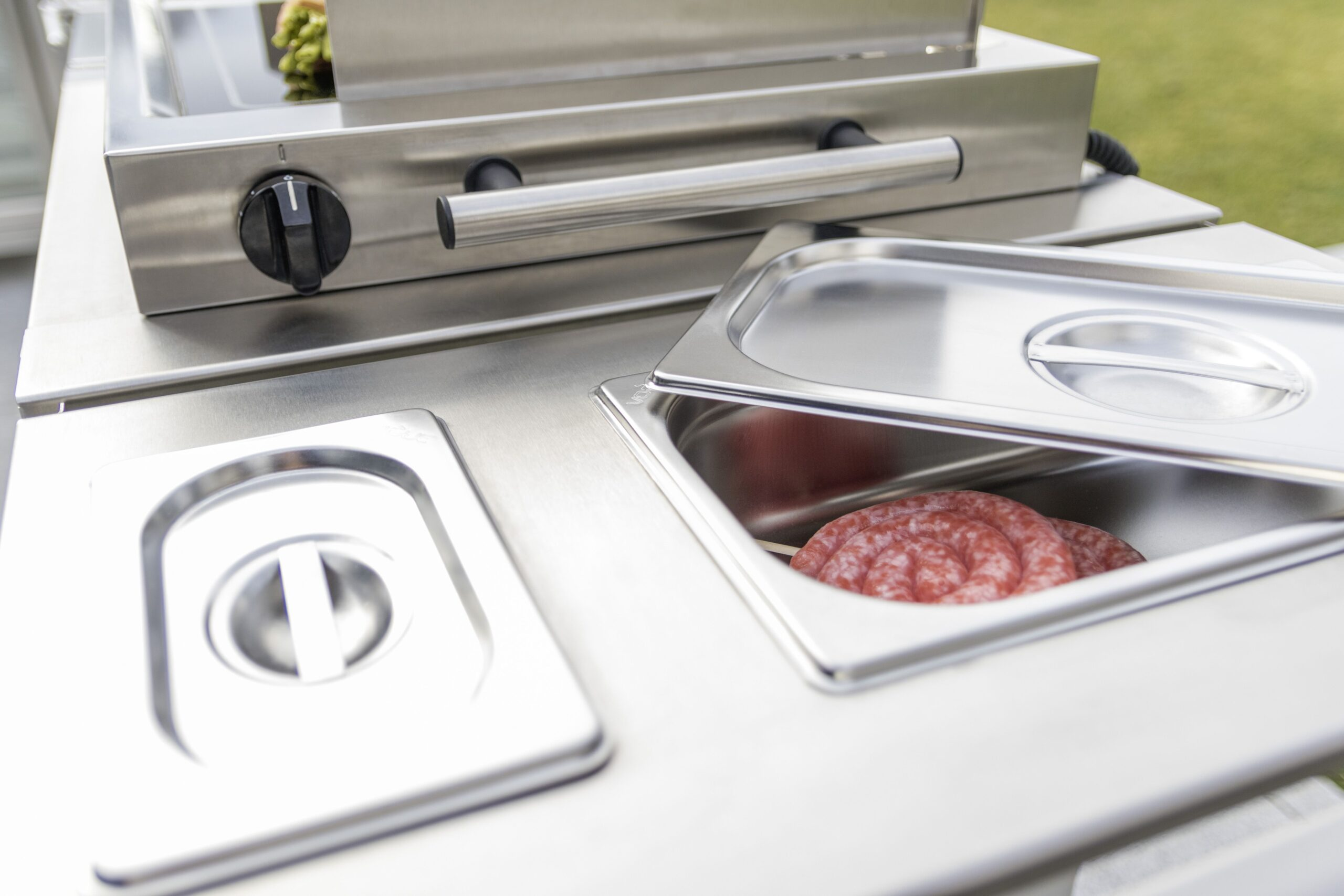 Full Size of Mobile Outdoorküche Das Modulare Outdoorkchen System Ist Sehr Interessant Fr Die Küche Wohnzimmer Mobile Outdoorküche
