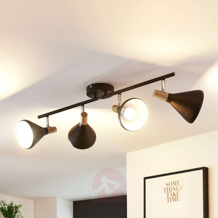 Medium Size of Led Wohnzimmer Deckenleuchte Arina In Schwarz Schrankwand Relaxliege Tisch Beleuchtung Küche Schlafzimmer Decken Poster Teppiche Lampen Gardinen Für Wohnzimmer Led Wohnzimmer Deckenleuchte