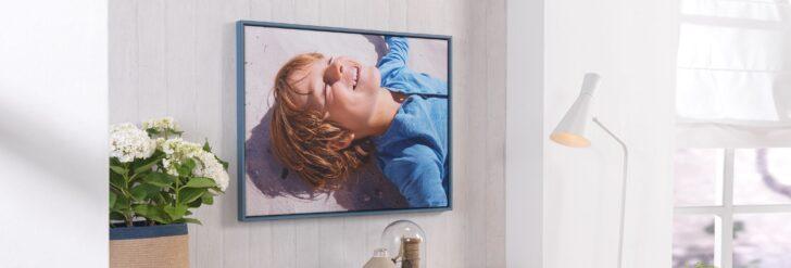 Medium Size of Fotos Auf Leinwand Fotoleinwand Drucken Bei Cewe Glasbilder Küche Bad Wohnzimmer Glasbild 120x50