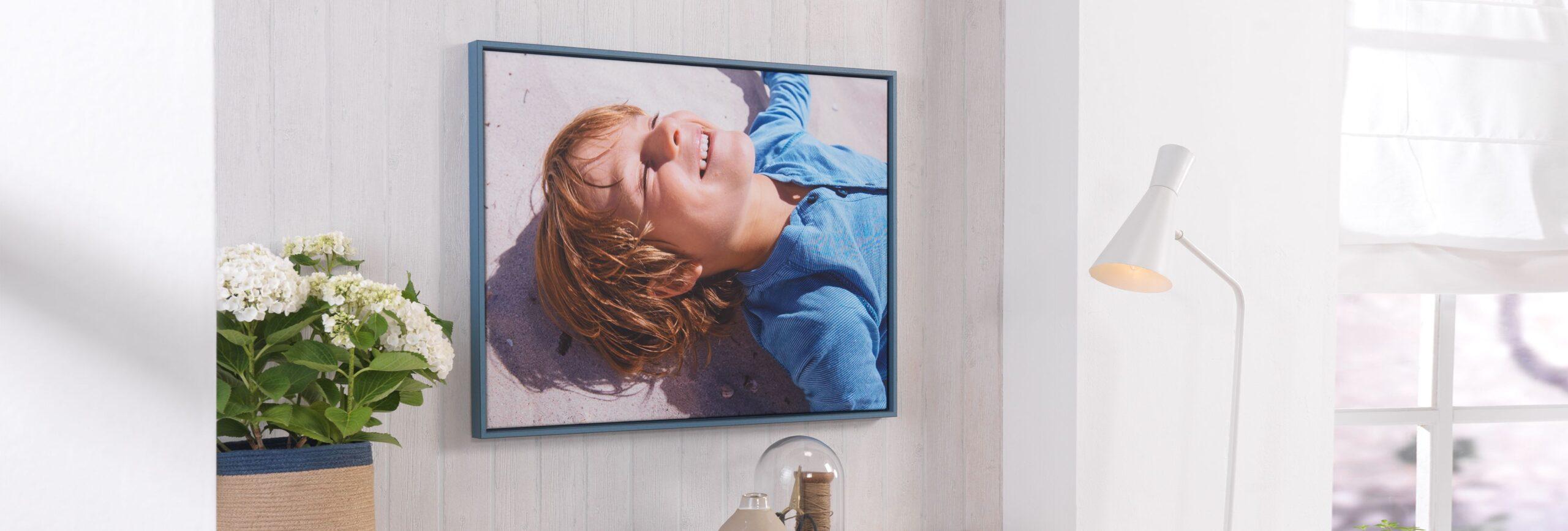 Full Size of Fotos Auf Leinwand Fotoleinwand Drucken Bei Cewe Glasbilder Küche Bad Wohnzimmer Glasbild 120x50