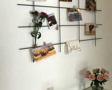 Kräutertöpfe Wand Wohnzimmer Kräutertöpfe Wand Diy Stylishe Pinnwand Aus Einem Metallgitter Weicon Bad Wandregal Regal Wohnzimmer Wohnwand Garten Trennwand Wandtattoo Küche