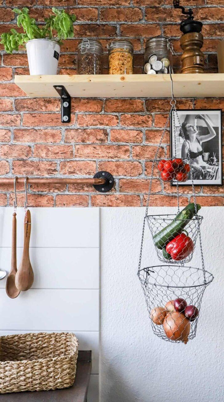 Medium Size of Diy Industrial Regal Kche Im Industriellen Stil Familie Mülltonne Küche Beistelltisch Kaufen Günstig Gebrauchte Verkaufen Einbauküche Mit Elektrogeräten Wohnzimmer Kleines Regal Küche