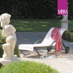 Garten Lounge Liege Mit Rollen Romeo Mbm Regal Metall Aufbewahrungsbox Skulpturen Klapptisch Pergola Bett Sichtschutz Im Swimmingpool Rattenbekämpfung Wohnzimmer Garten Lounge Metall