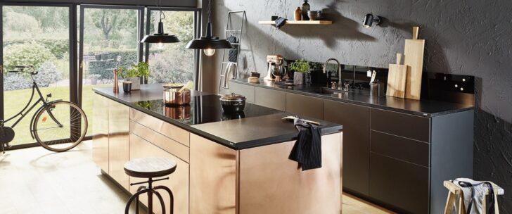 Medium Size of Schwarze Kchen 8 Besten Gestaltungsideen Bauhaus Fenster Wohnzimmer Bauhaus Küchenrückwand