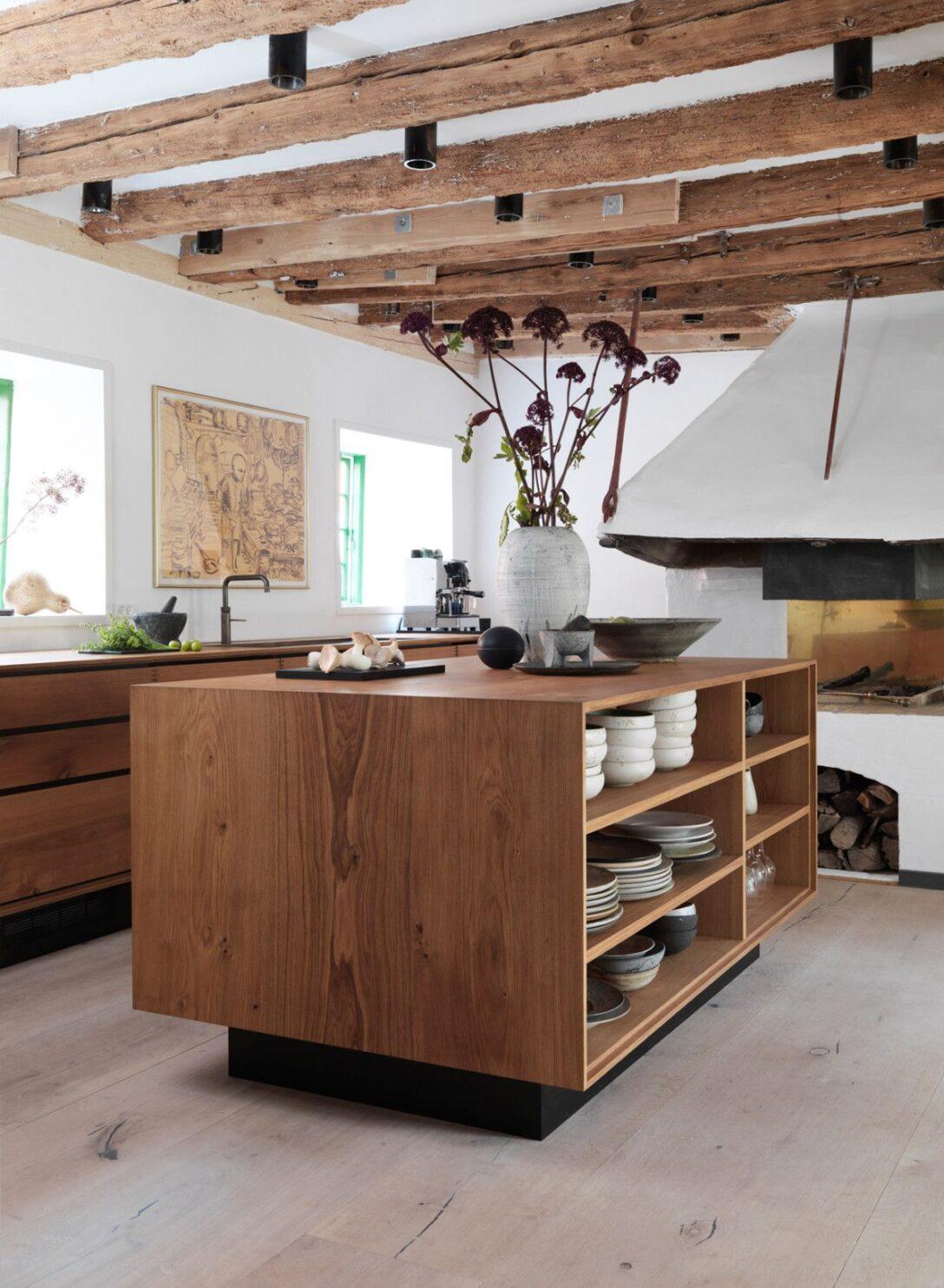 Large Size of Real Küchen Steal This Look A Star Chefs Scandi Kitchen Kchen Rustikal Regal Wohnzimmer Real Küchen