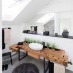 Dachgeschosswohnung Einrichten Wohnzimmer Badezimmer Im Dachgeschoss Planen Kleine Küche Einrichten