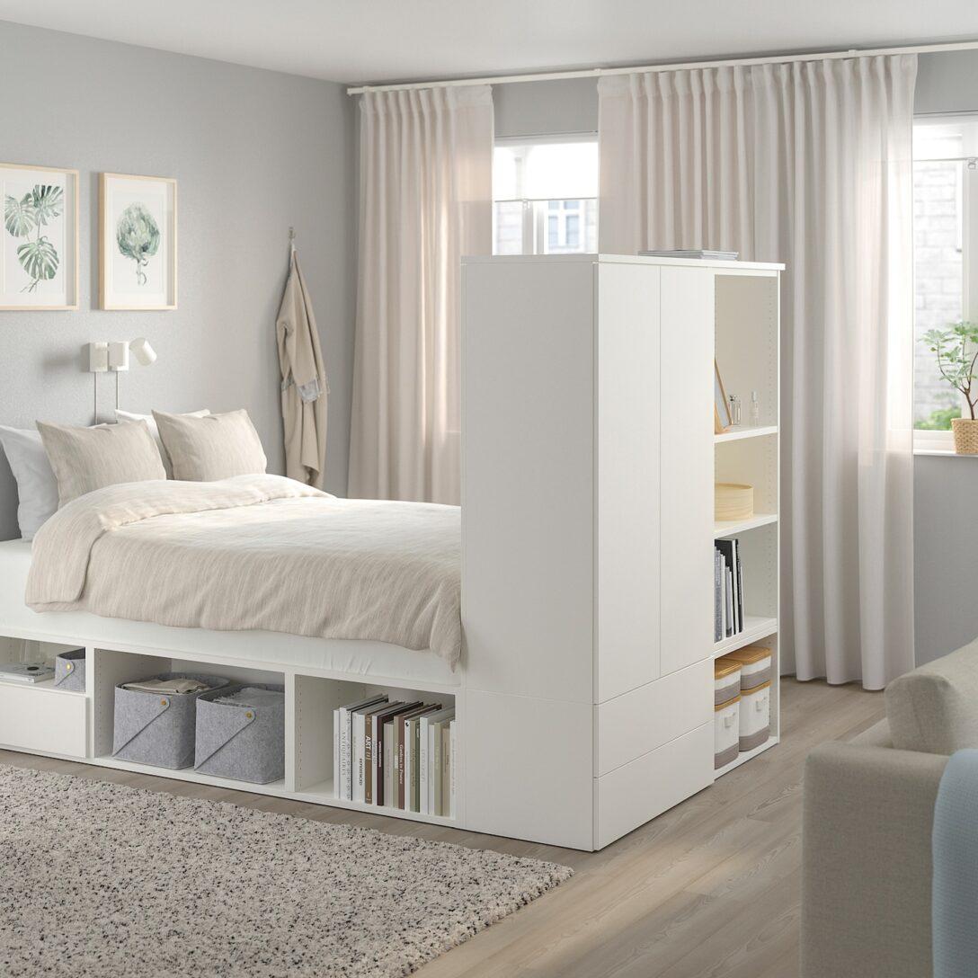 Large Size of Trennwand Ikea Platsa Bettgestell Mit 2 Tren 3 Schubl Wei Betten Bei Küche Kaufen Kosten Glastrennwand Dusche Garten Modulküche 160x200 Sofa Schlaffunktion Wohnzimmer Trennwand Ikea