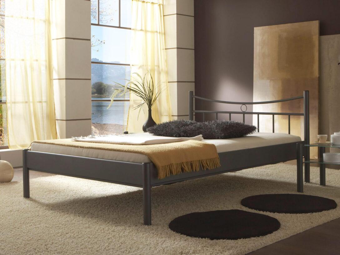 Large Size of Schlichter Metallbett Svenja Betten 100x200 Bett Weiß Wohnzimmer Metallbett 100x200