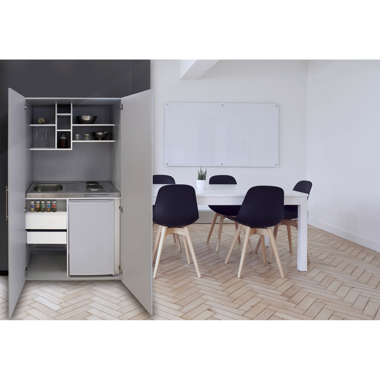 Full Size of Respekta Schrankkche Skw Silbergrau Kaufen Bei Obi Ikea Miniküche Küche Kosten Betten Modulküche Sofa Mit Schlaffunktion 160x200 Wohnzimmer Schrankküchen Ikea