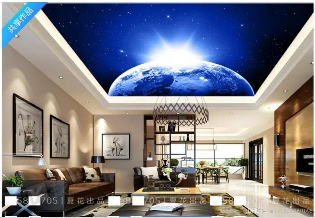 Large Size of 3d Foto Tapete Blau Traum Schlafzimmer Beleuchtung Wohnzimmer Fototapete Sessel Im Bad Wandtattoo Gardinen Relaxliege Hängeleuchte Led Wohnzimmer Wohnzimmer Decke