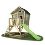 Spielhaus Garten Gebraucht Exit Crooky 500 Kinderspielhaus Holz Hängesessel Spielturm Kugelleuchten Aufbewahrungsbox Ausziehtisch Kunststoff Relaxliege Wohnzimmer Spielhaus Garten Gebraucht