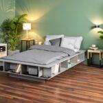 Palettenbett 140x200 Ikea Bett Paletten Kaufen Aus Selber Bauen Anleitung Selbst Sofa Mit Schlaffunktion Küche Kosten Miniküche Betten 160x200 Bei Wohnzimmer Palettenbett Ikea