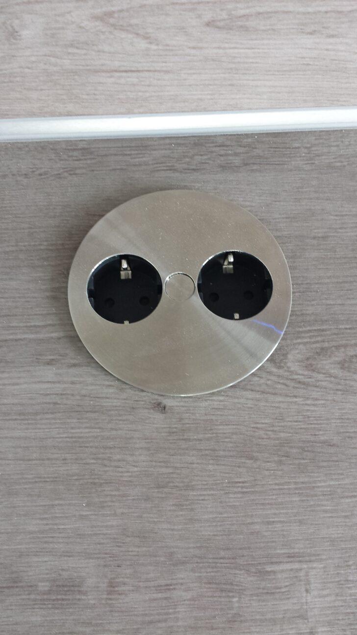 Medium Size of Kochinsel Steckdose Kche Offen Hausbaublog Hillerse Spiegelschrank Bad Mit Beleuchtung Und L Küche Wohnzimmer Kochinsel Steckdose