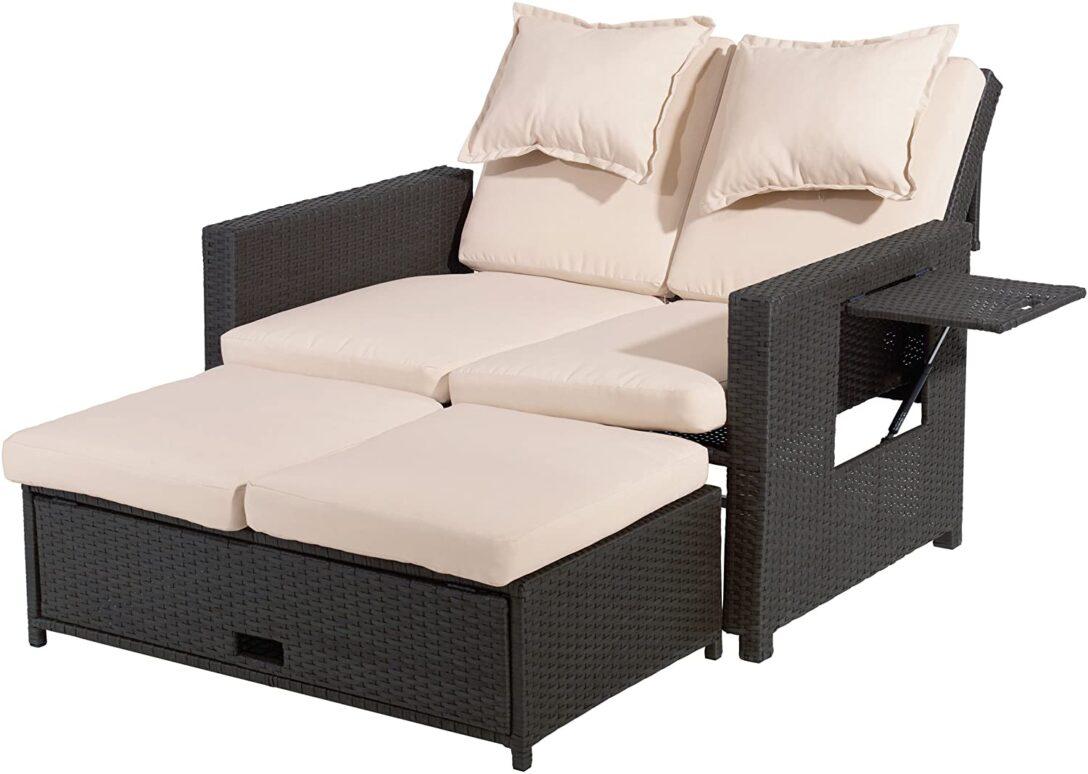 Large Size of Bett Ausziehbar Gleiche Ebene Ikea Amazonde Greemotion Rattan Lounge Bahia Möbel Boss Betten Mit Hohem Kopfteil Ohne Füße Gästebett Wand Trends Beleuchtung Wohnzimmer Bett Ausziehbar Gleiche Ebene