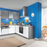 Küche Blau Wohnzimmer Küche Blau L Kche Grau Fr Nur 1444 Bei Der Wahren Kuechen Boerse Vorratsdosen Wandpaneel Glas Arbeitstisch Rustikal Industriedesign Wandregal Einbauküche