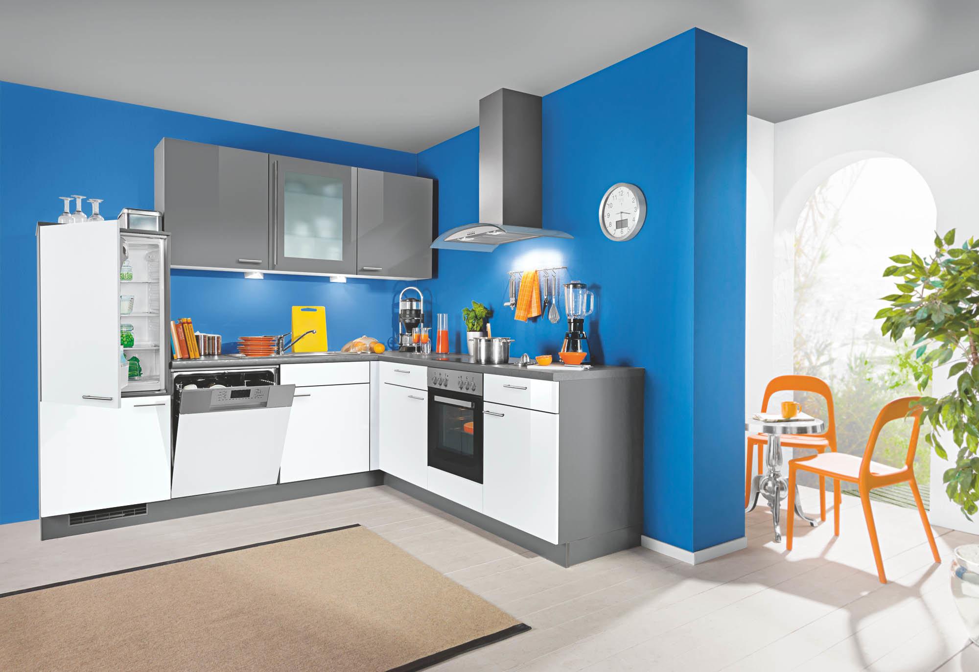 Full Size of Küche Blau L Kche Grau Fr Nur 1444 Bei Der Wahren Kuechen Boerse Vorratsdosen Wandpaneel Glas Arbeitstisch Rustikal Industriedesign Wandregal Einbauküche Wohnzimmer Küche Blau