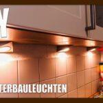 Unterbauleuchten Küche Wohnzimmer Diy Dreieck Led Unterbauleuchten Montage Youtube Wasserhahn Für Küche Scheibengardinen Billig Kaufen Weiß Matt Landhausküche Gebraucht Outdoor