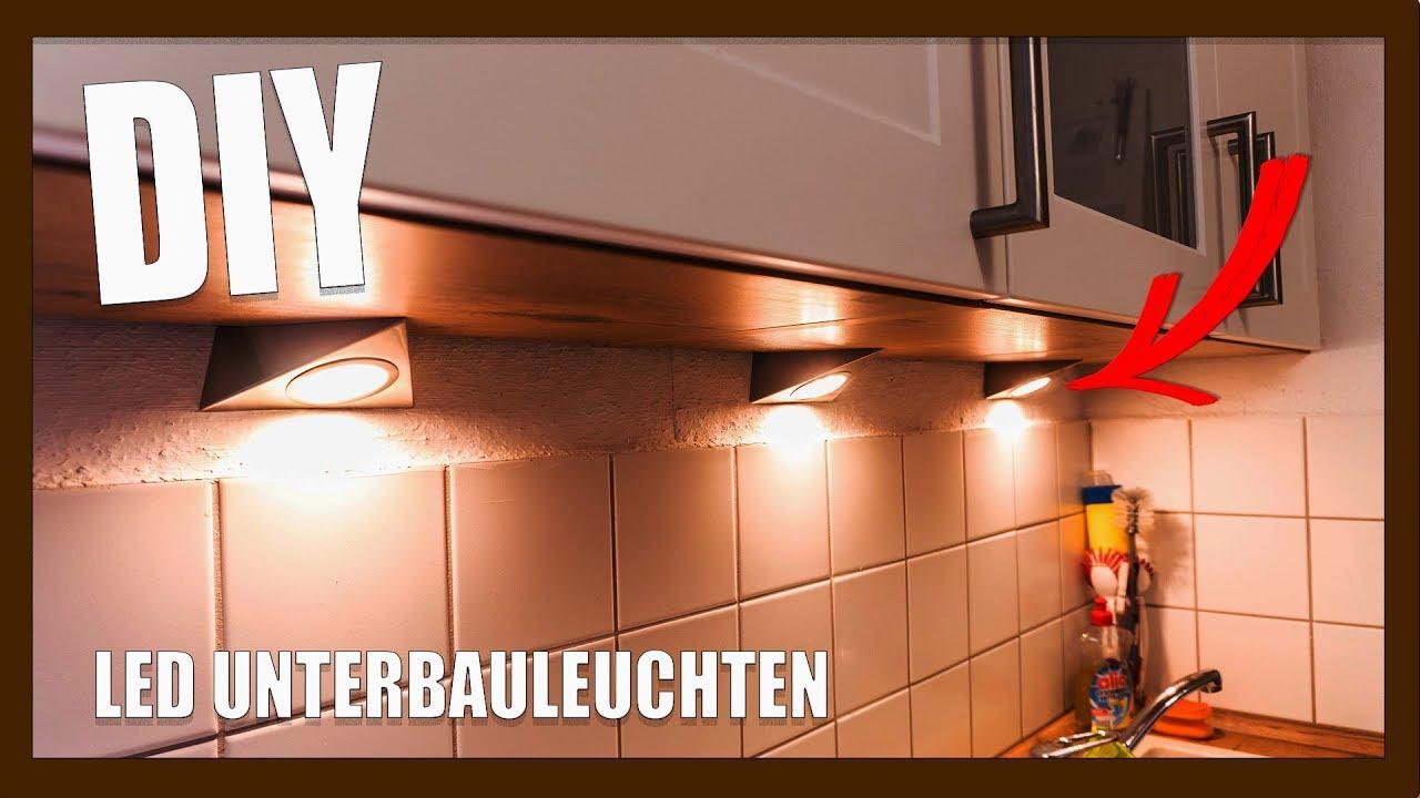 Full Size of Diy Dreieck Led Unterbauleuchten Montage Youtube Wasserhahn Für Küche Scheibengardinen Billig Kaufen Weiß Matt Landhausküche Gebraucht Outdoor Wohnzimmer Unterbauleuchten Küche