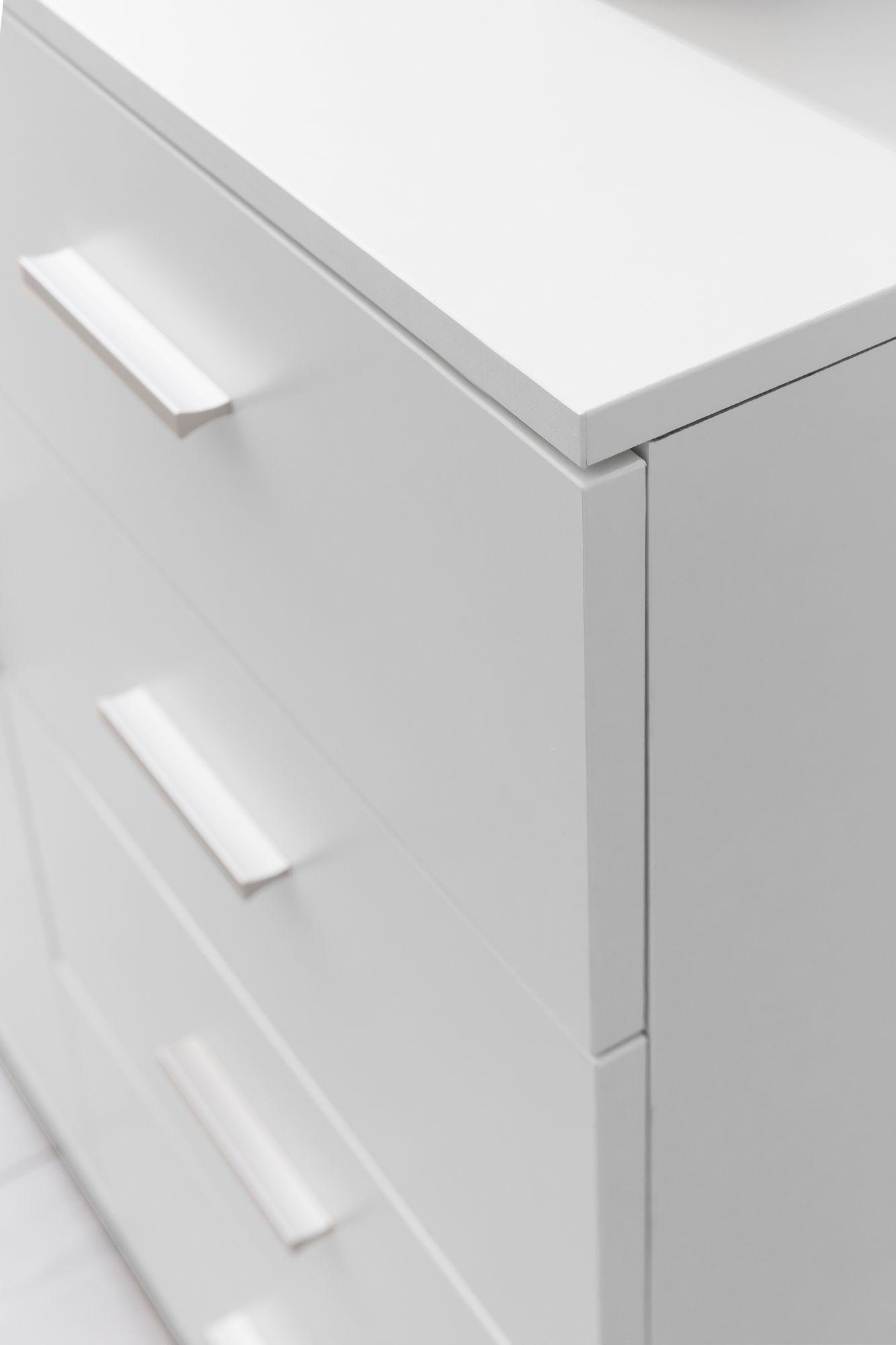 Full Size of Sideboard Weiß Schmal Finebuy Fb52335 Wei Hochglanz 41x108x30 Cm Anrichte Esstisch Oval Bett 90x200 Mit Schubladen 140x200 Bad Kommode Weißer 160x200 Wohnzimmer Sideboard Weiß Schmal