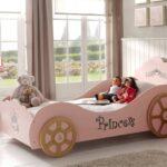Mädchenbetten Kutschenbett Princess Kinderbett Mdchenbett Mit Lattenrost 90 X Wohnzimmer Mädchenbetten